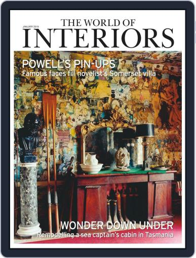 The World of Interiors January 1st, 2019 Digital Back Issue Cover