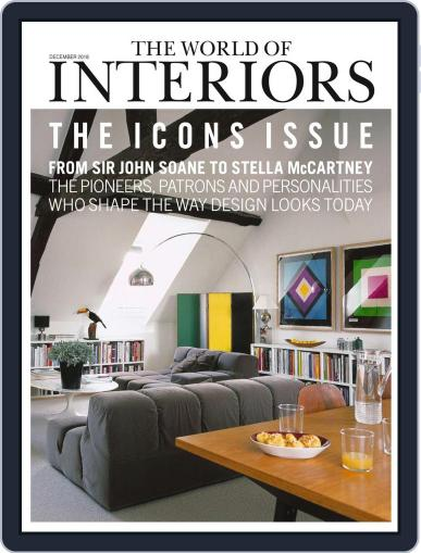 The World of Interiors December 1st, 2018 Digital Back Issue Cover