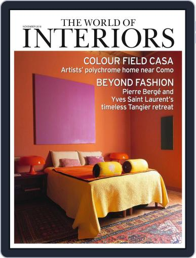 The World of Interiors November 1st, 2018 Digital Back Issue Cover