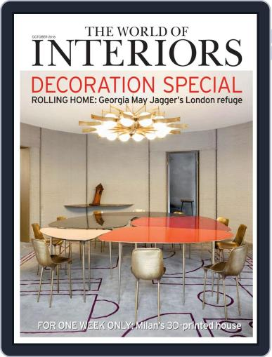 The World of Interiors October 1st, 2018 Digital Back Issue Cover