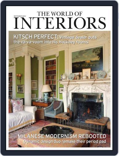 The World of Interiors September 1st, 2018 Digital Back Issue Cover