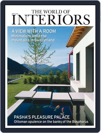 The World of Interiors (Digital) April 1st, 2018 Issue Cover