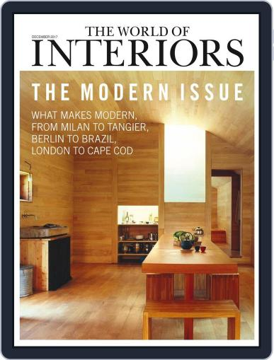 The World of Interiors December 1st, 2017 Digital Back Issue Cover