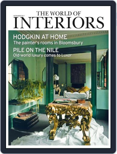 The World of Interiors (Digital) November 1st, 2017 Issue Cover
