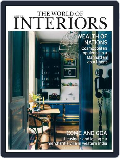 The World of Interiors (Digital) August 1st, 2017 Issue Cover