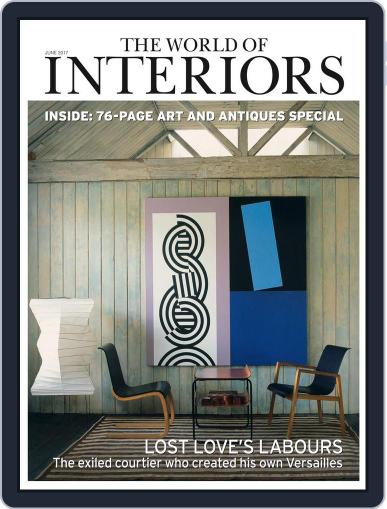 The World of Interiors (Digital) June 1st, 2017 Issue Cover
