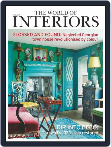 The World of Interiors (Digital) April 1st, 2017 Issue Cover
