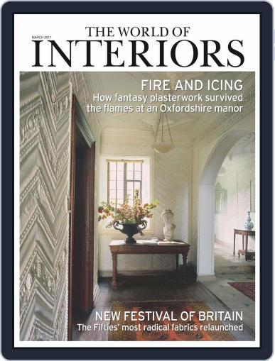 The World of Interiors (Digital) March 1st, 2017 Issue Cover