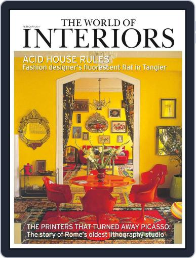 The World of Interiors (Digital) February 1st, 2017 Issue Cover