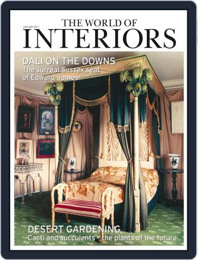 The World of Interiors (Digital) January 1st, 2017 Issue Cover