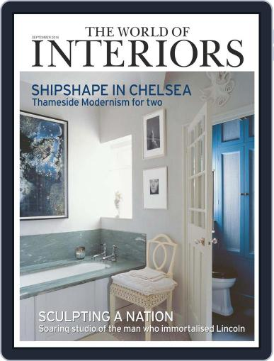 The World of Interiors (Digital) August 4th, 2016 Issue Cover