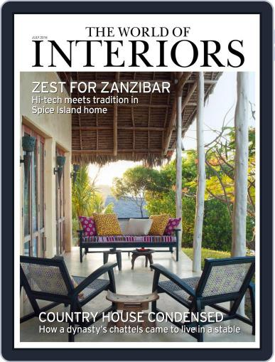 The World of Interiors (Digital) June 9th, 2016 Issue Cover