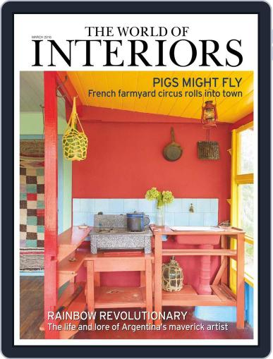 The World of Interiors February 4th, 2016 Digital Back Issue Cover