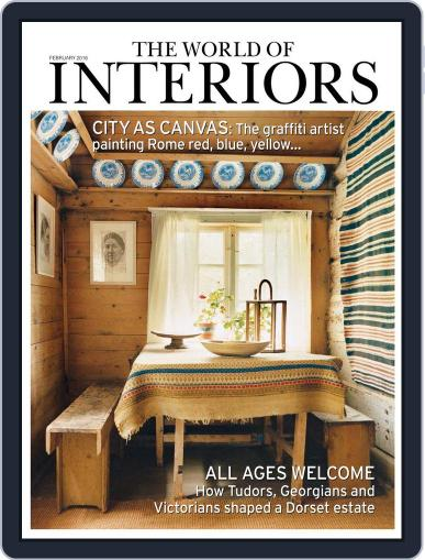 The World of Interiors January 7th, 2016 Digital Back Issue Cover