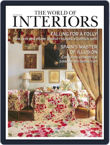 The World of Interiors December 3rd, 2015 Digital Back Issue Cover