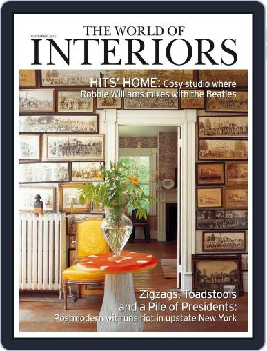 The World of Interiors (Digital) October 7th, 2015 Issue Cover