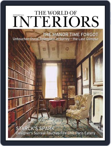The World of Interiors (Digital) August 5th, 2015 Issue Cover
