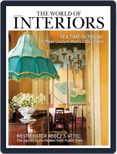 The World of Interiors (Digital) August 1st, 2015 Issue Cover