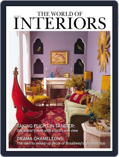 The World of Interiors (Digital) July 1st, 2015 Issue Cover