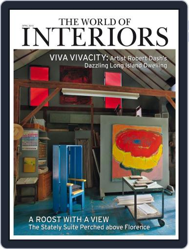 The World of Interiors (Digital) April 1st, 2015 Issue Cover