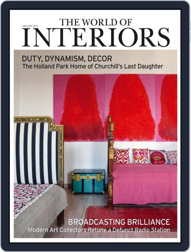 The World of Interiors (Digital) December 4th, 2014 Issue Cover