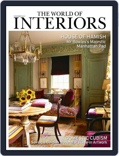 The World of Interiors (Digital) October 8th, 2014 Issue Cover