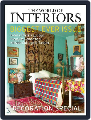 The World of Interiors (Digital) September 4th, 2014 Issue Cover