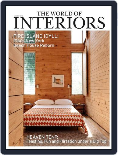 The World of Interiors (Digital) July 2nd, 2014 Issue Cover