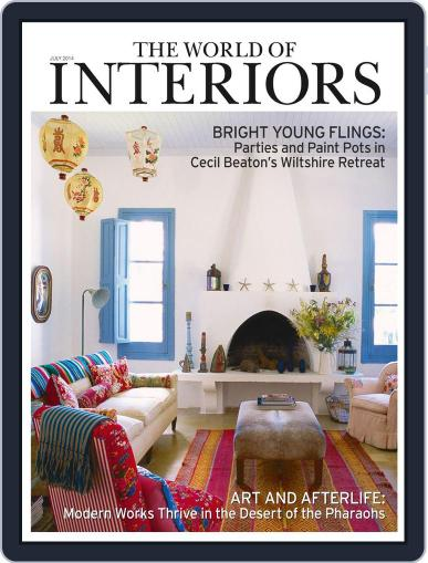 The World of Interiors June 4th, 2014 Digital Back Issue Cover