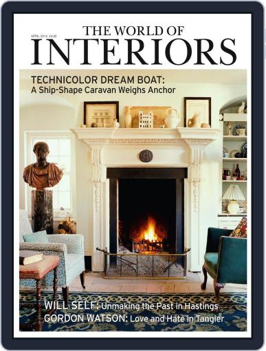 The World of Interiors March 5th, 2014 Digital Back Issue Cover