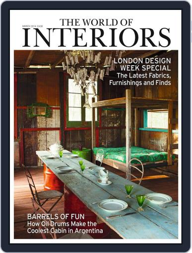 The World of Interiors February 5th, 2014 Digital Back Issue Cover