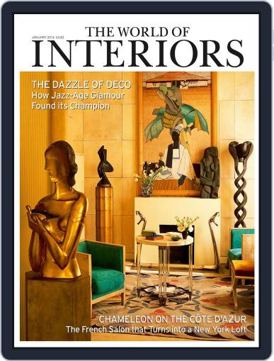The World of Interiors (Digital) December 4th, 2013 Issue Cover