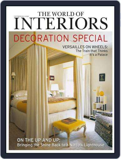 The World of Interiors September 4th, 2013 Digital Back Issue Cover