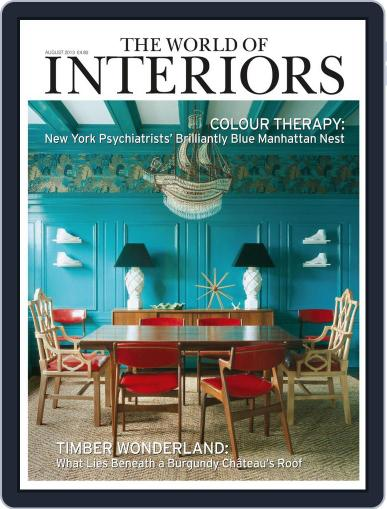The World of Interiors (Digital) July 3rd, 2013 Issue Cover