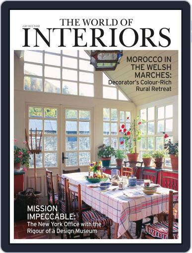 The World of Interiors (Digital) June 5th, 2013 Issue Cover