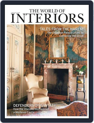 The World of Interiors (Digital) May 8th, 2013 Issue Cover