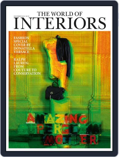 The World of Interiors (Digital) November 7th, 2012 Issue Cover