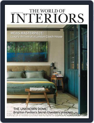 The World of Interiors (Digital) October 10th, 2012 Issue Cover