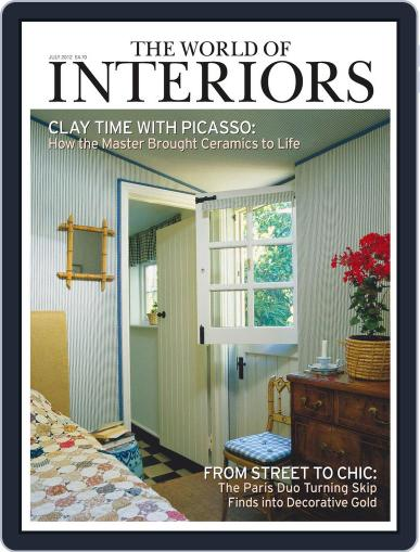 The World of Interiors (Digital) June 6th, 2012 Issue Cover