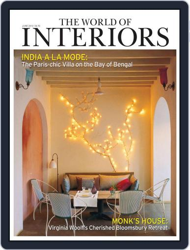 The World of Interiors May 9th, 2012 Digital Back Issue Cover