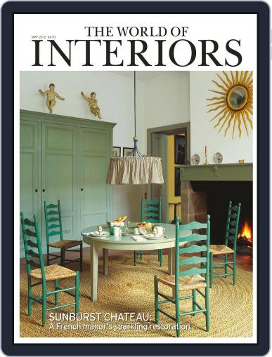 The World of Interiors (Digital) April 4th, 2012 Issue Cover