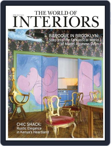 The World of Interiors March 7th, 2012 Digital Back Issue Cover