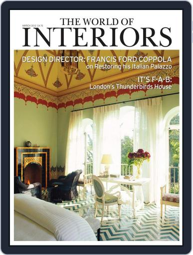 The World of Interiors February 9th, 2012 Digital Back Issue Cover