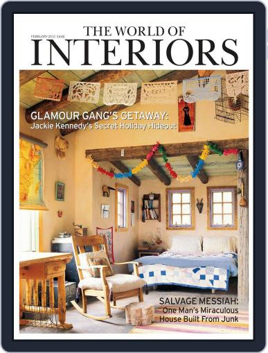The World of Interiors January 17th, 2012 Digital Back Issue Cover