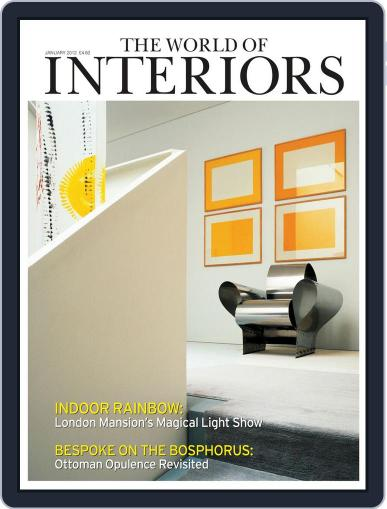 The World of Interiors (Digital) December 16th, 2011 Issue Cover