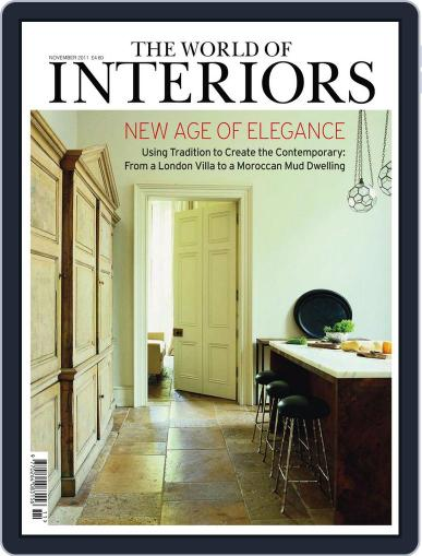 The World of Interiors October 13th, 2011 Digital Back Issue Cover