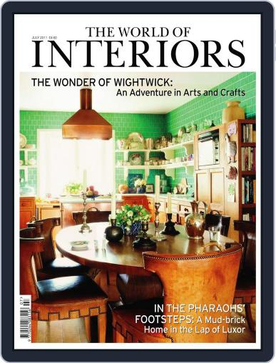 The World of Interiors June 8th, 2011 Digital Back Issue Cover