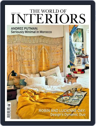 The World of Interiors (Digital) May 12th, 2011 Issue Cover