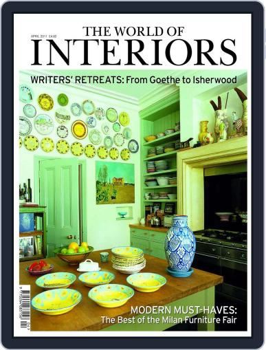 The World of Interiors March 13th, 2011 Digital Back Issue Cover