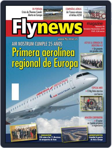 Fly News October 1st, 2019 Digital Back Issue Cover